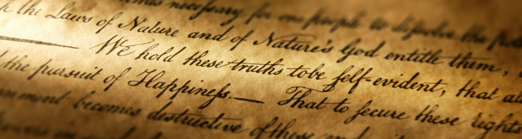 Careful Reading of Key Documents Reveals American Principles